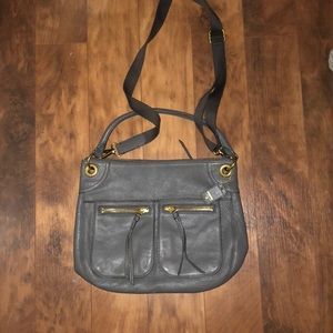 LIKE NEW FOSSIL SATCHEL CROSSBODY